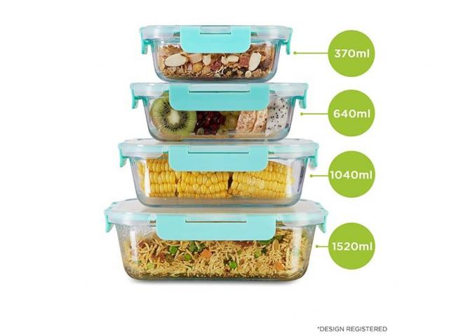 Glass containers & lunch boxes for you by Allo Innoware - 1/4