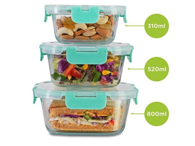 Glass containers & lunch boxes for you by Allo Innoware - 2/4