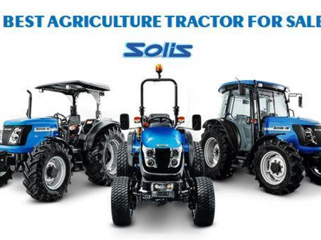 Find the Best Agriculture Tractor for Sale | Solis Tractors - 1/1