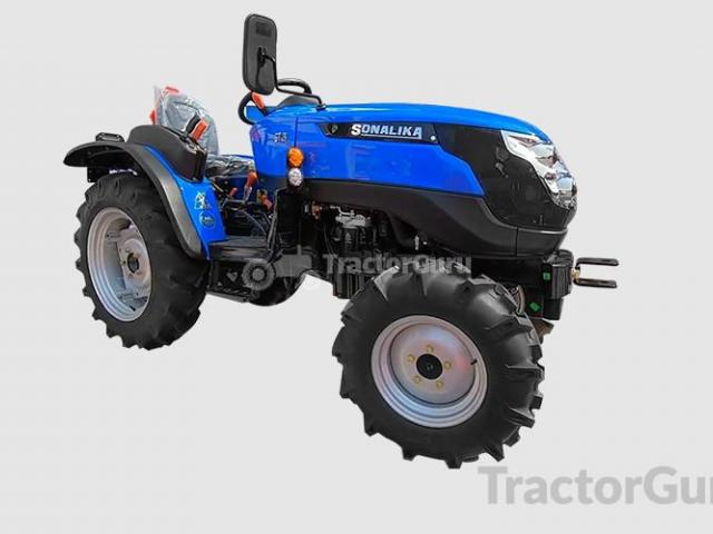 A New Tractor Designed Specifically for Agriculture in India - 1/1