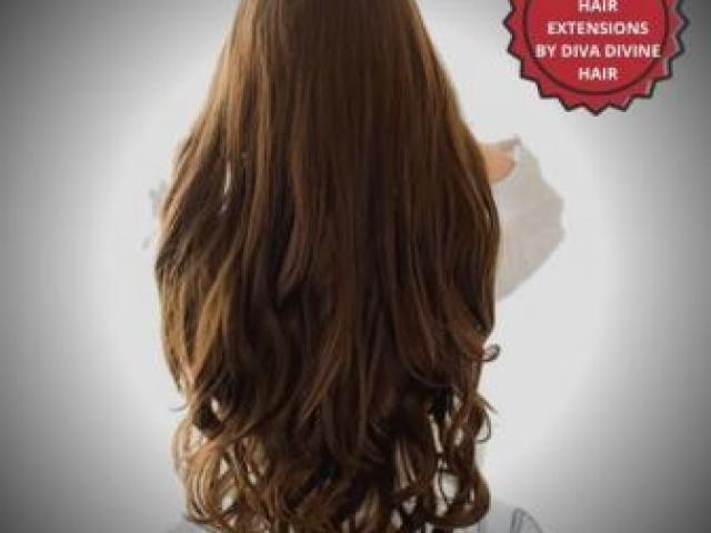 SYNTHETIC HAIR EXTENSIONS BY DIVA DIVINE HAIR - 1/1